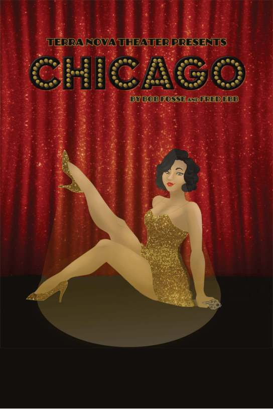 Chicago Poster (no dates) Red