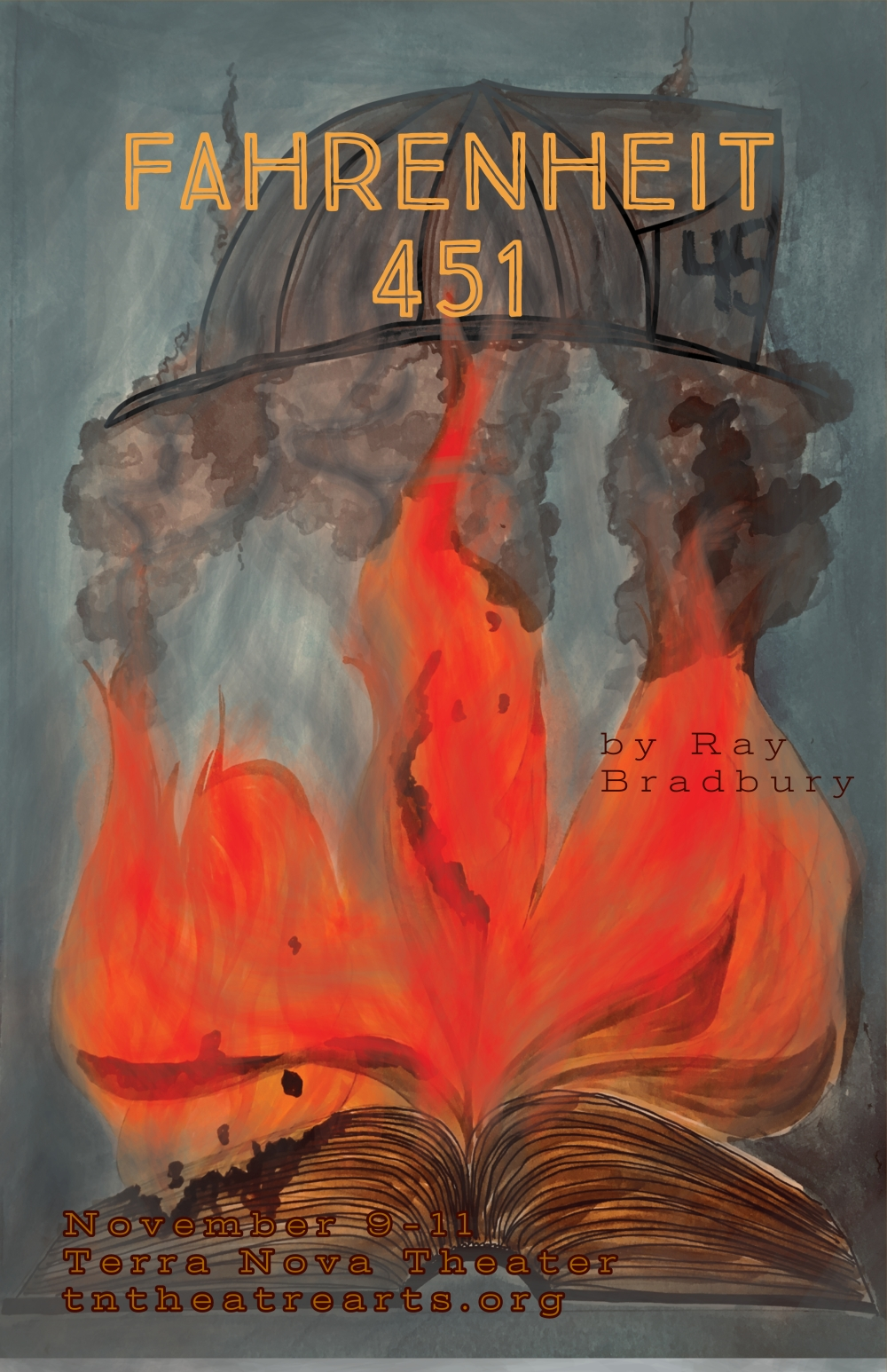 fahrenheit 451 poster for emails